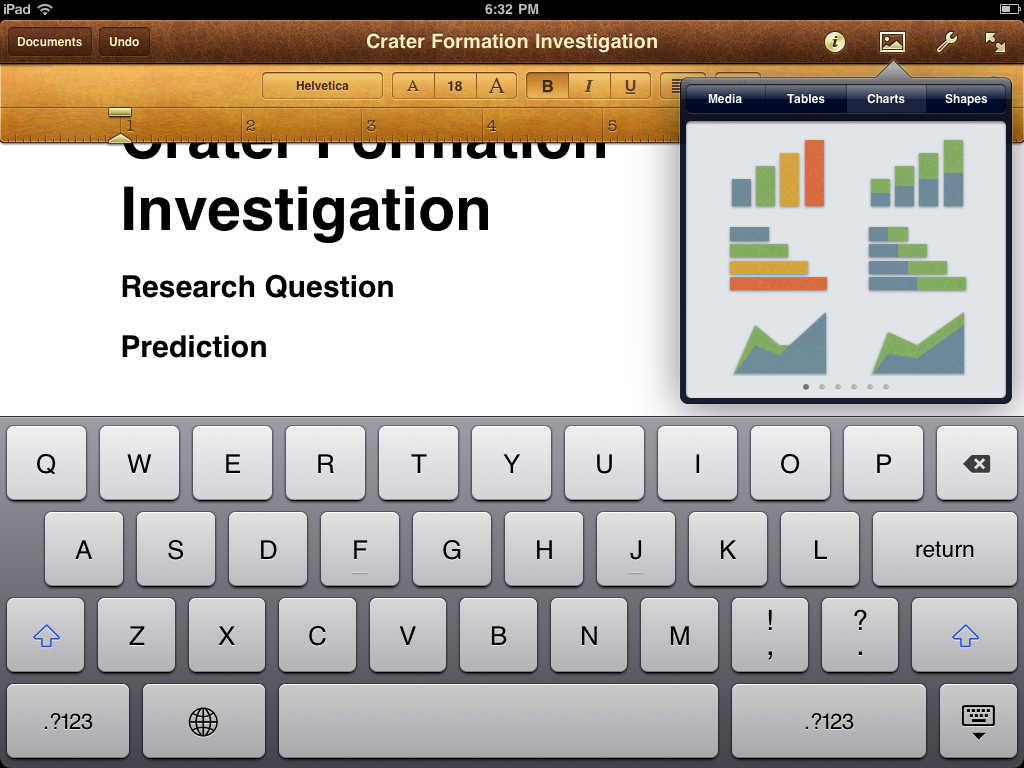 RNIT: Quick Review: Pages for iPad