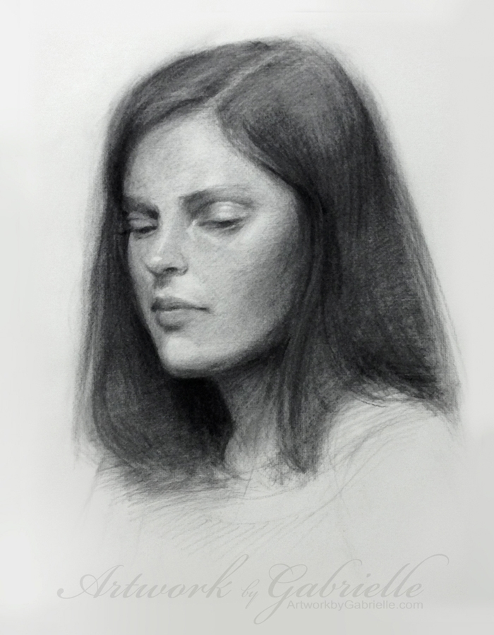 09-Gabrielle-Brickey-Strength-and-Purpose-through Charcoal-Portraits-www-designstack-co