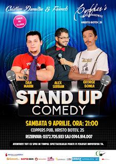 Stand-Up Comedy Sambata Bucuresti 9 Aprilie