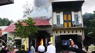 Kebakaran Kejutkan Jamaah Shalat 'Id di Banjarbaru