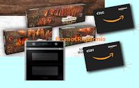 Logo Casa Modena Il Gusto che ti premia: vinci 48 buoni Amazon da 500€ e 1 Forno Samsung Smart Dual Cook Flex da incasso
