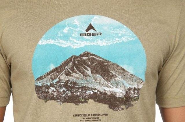 Eiger Minta Maaf soal Kaus 'Gunung Kerinci di Sumbar'
