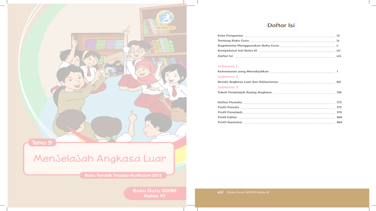 RPP Tematik Kelas 6 Tema 9 Kurikulum 2013 Revisi 2018