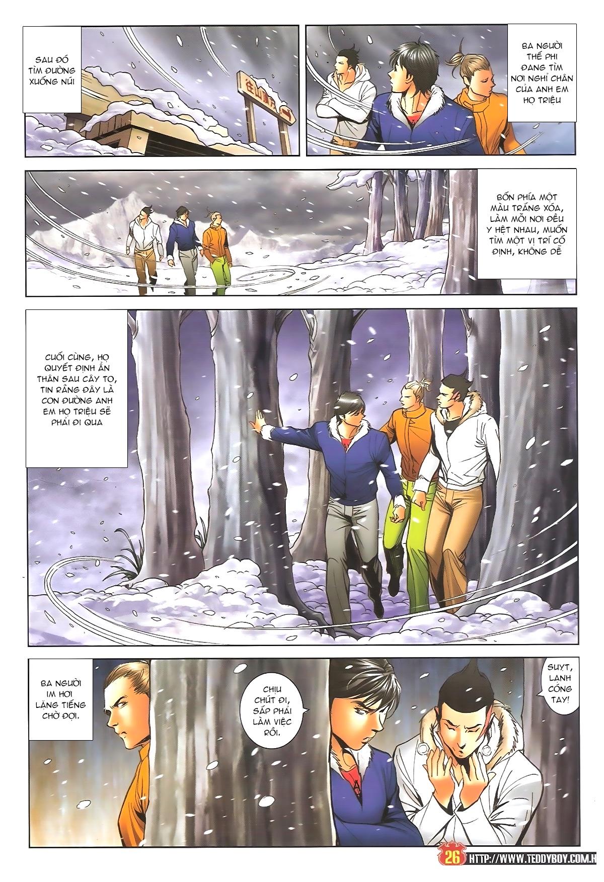 Người Trong Giang Hồ - Chapter 1612: Thần nhân tương ngộ - Pic 23