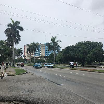 Avenida de Boyero. La Habana