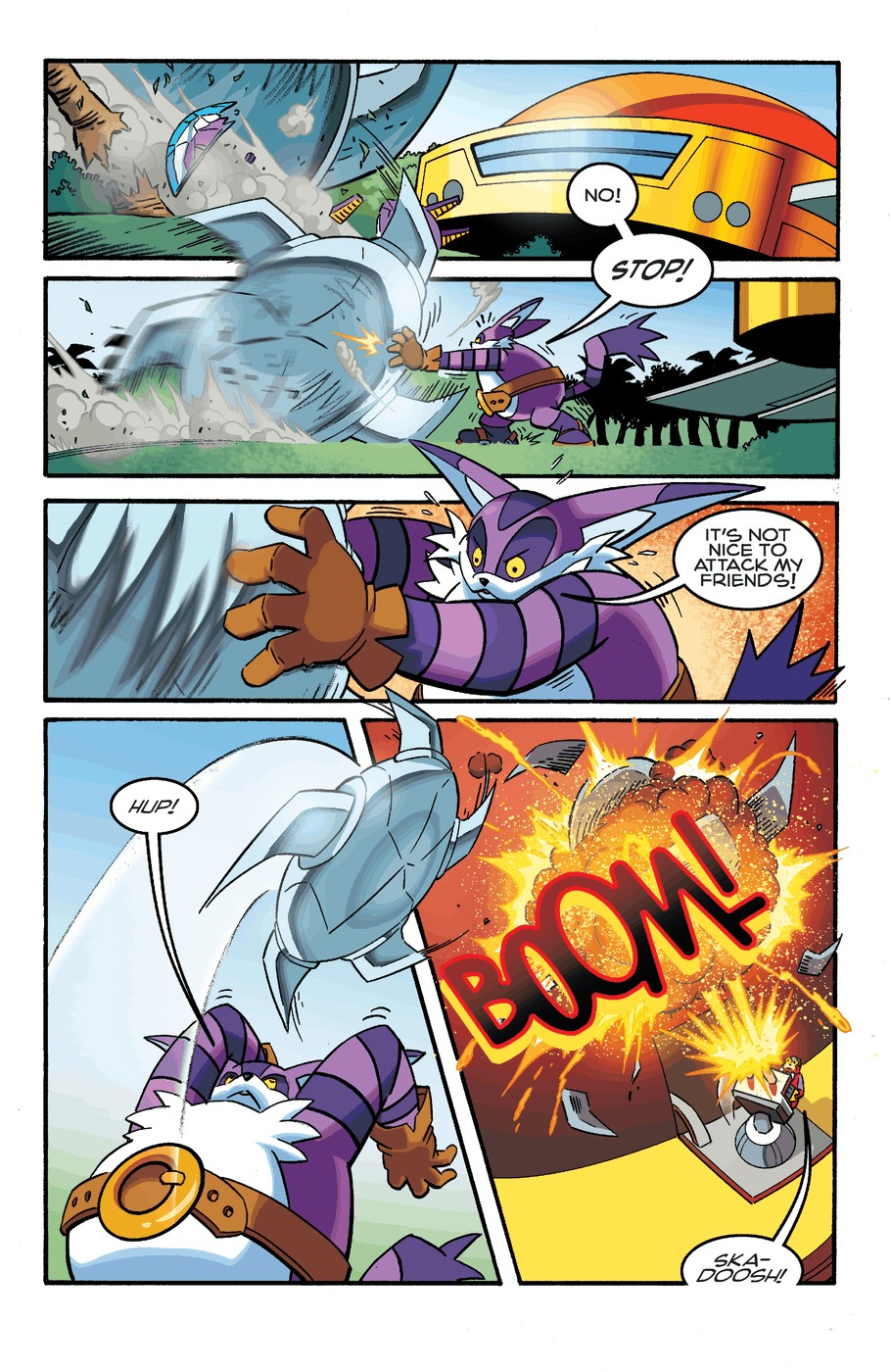 Read online Sonic The Hedgehog comic -  Issue #253 - 16