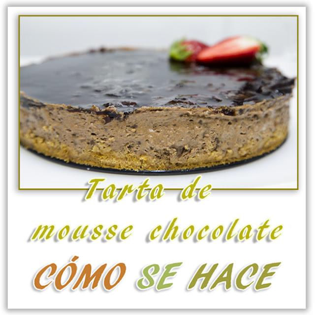 TARTA MOUSSE DE...
