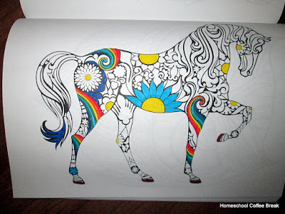 New Coloring Books on the Virtual Fridge - an art link-up hosted by Homeschool Coffee Break @ kympossibleblog.blogspot.com #VirtualFridge #art