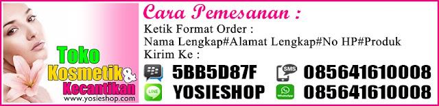Cara Order Toko Online Kecantikan dan Perawatan Tubuh Alami Yosie Shop