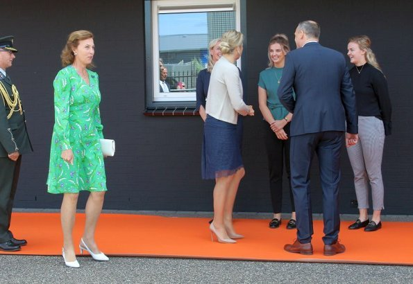 Dutch Queen Maxima made a working visit to Bouwgroep Dijkstra Draisma in Dokkum