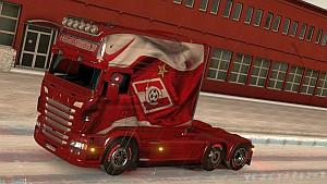 Spartak skin for Scania Longline RJL
