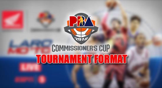 LIST: Tournament Format 2018 PBA Commissioner's Cup