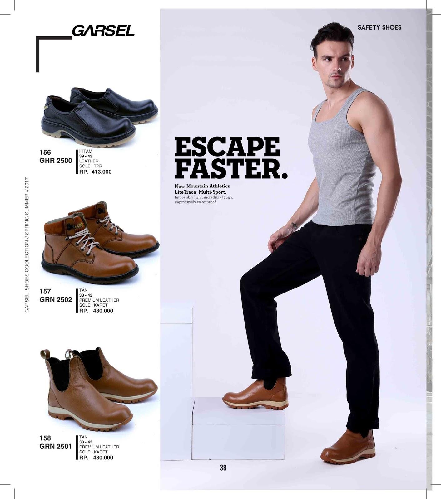 Garsel Shoes 2018 Spesialis Sepatu