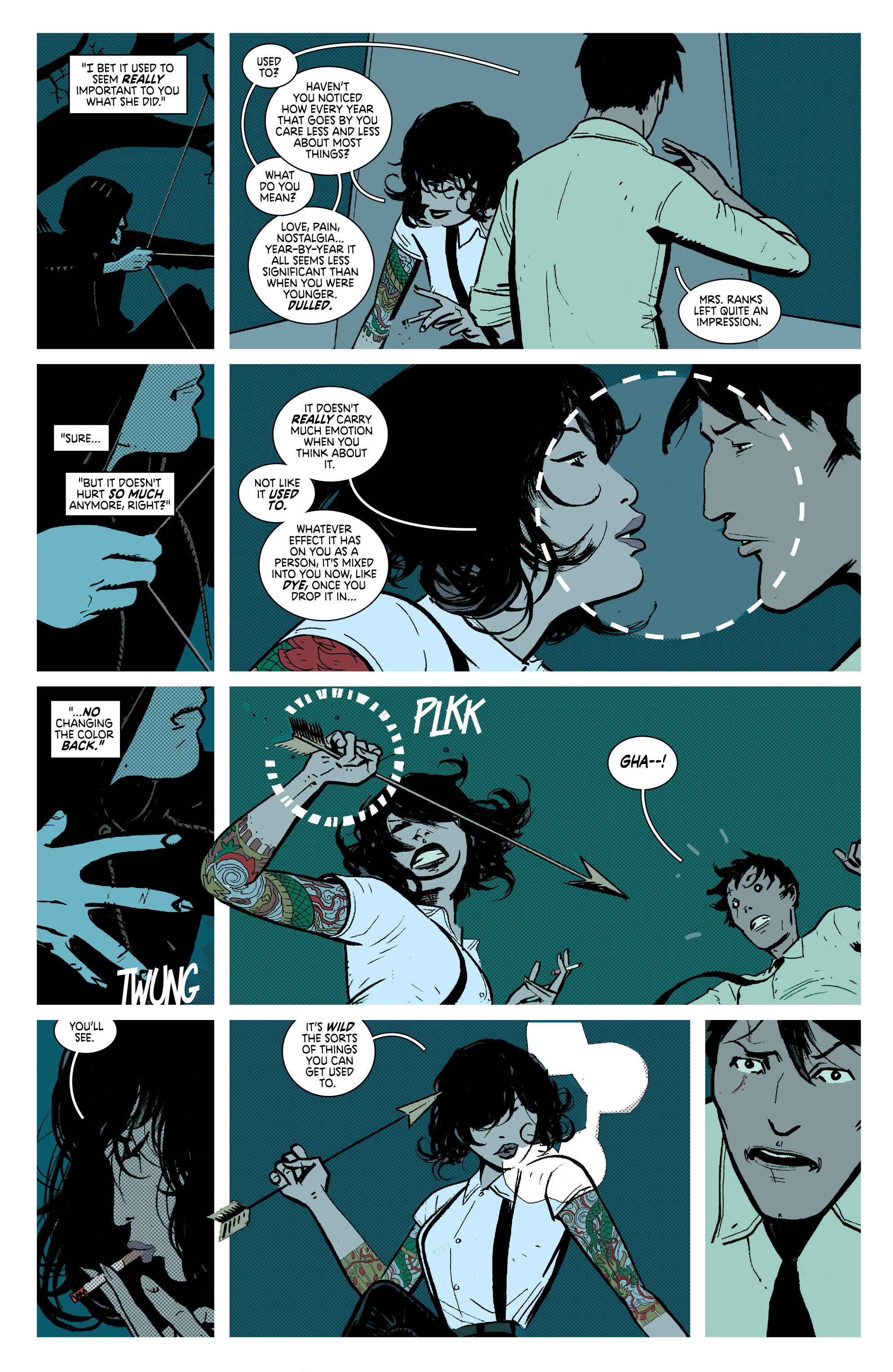 Read online Deadly Class comic -  Issue #7 - 16