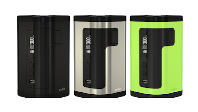 The iStick Tria 300W Reignites The Triple Battery Box Mod Phenomenon