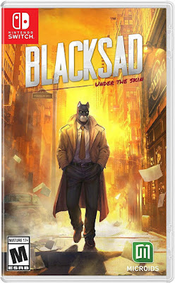 Blacksad Under The Skin Game Cover Nintendo Switch