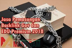 Jasa Pemasangan Backlink Gov dan EDU Premium 2018