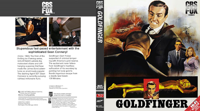 Goldfinger Bluray Cover