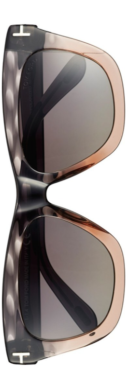 Tom Ford 'Celina' 55mm  Polarized Sunglasses