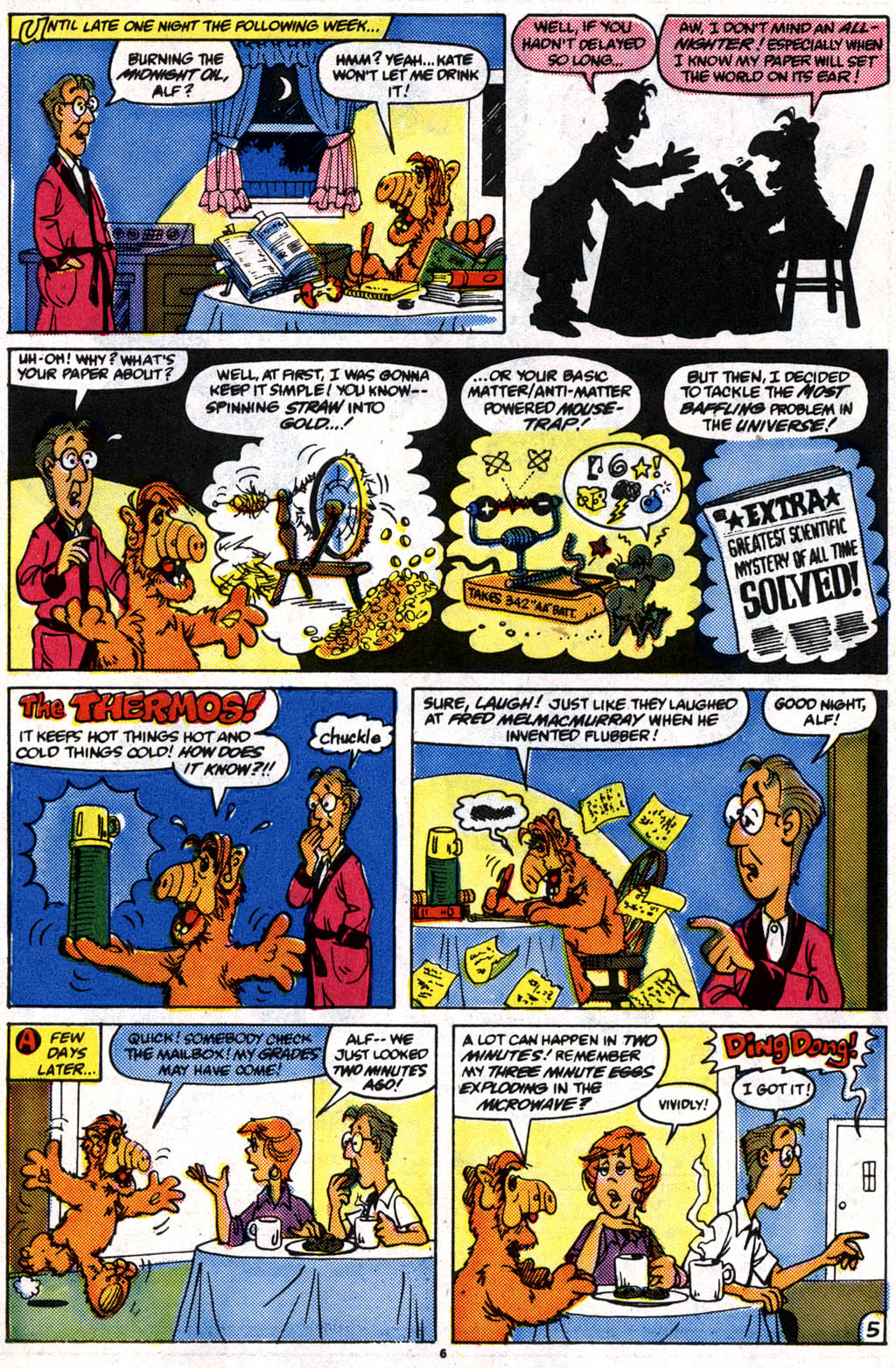 Read online ALF comic -  Issue #10 - 6