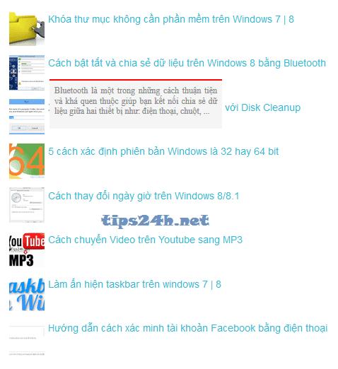 thêm bài viết phổ biến(popular-post) cho blogspot