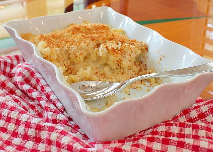 white truffle mac and cheese