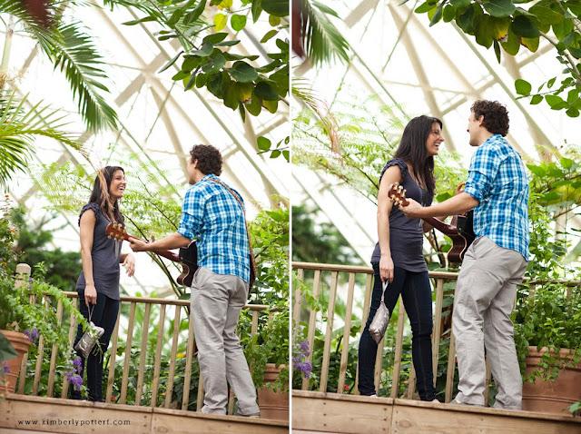 Matt + Shannon - Proposal at Franklin Park! 8
