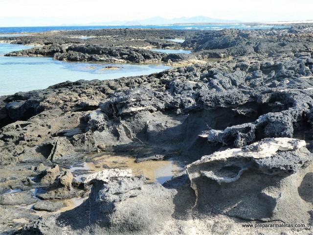 paisaje volcánico de Fuerteventura