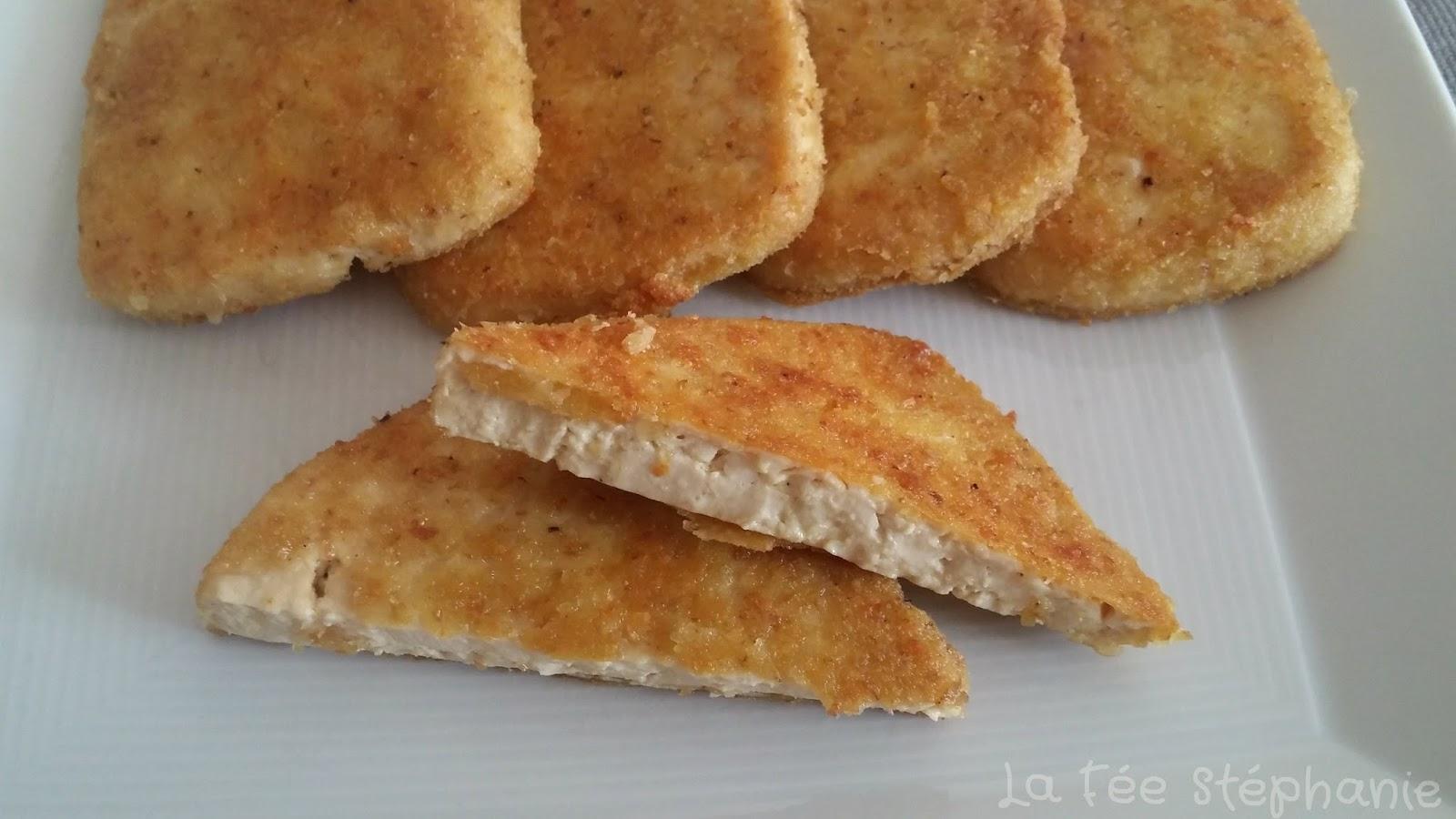 Escalopes de tofu pan es la f e st phanie - Cuisiner le tofu ferme ...