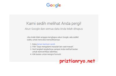 Cara Menghapus Akun Google Atau Gmail Permanen