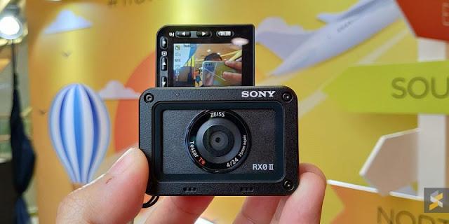 CO Sony Rilis Kamera Aksi Dengan Layar Putar Sangat Cocok Untuk Vlogging