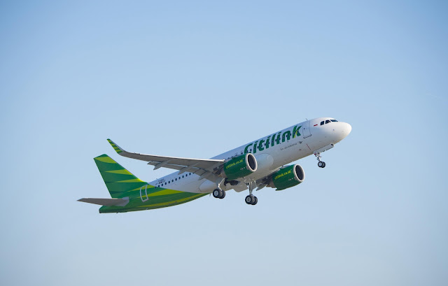 Citilink A320neo Ferry Flight