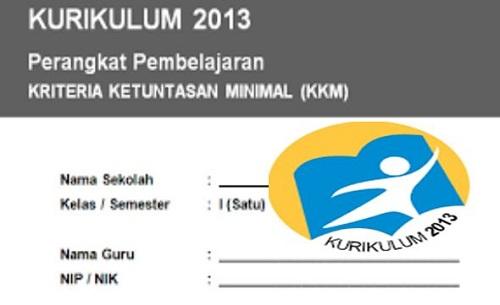 KKM Kelas 1 SD/MI Semester 1 Dan 2 Kurikulum 2013 Terbaru