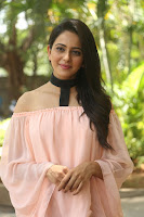 Rakul Preet Singh in lovely Pink Crop Top and Black Trousers at Jaya Janaki Nayaka success meet 049.JPG