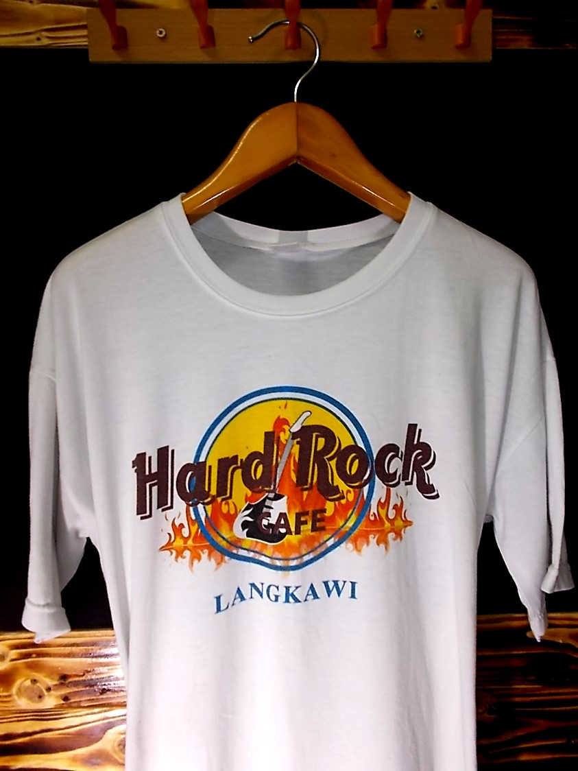 Hard rock clothing store