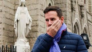 Cruz was reportedly sexually abused by Rev. Fernando Karadima as a teen.