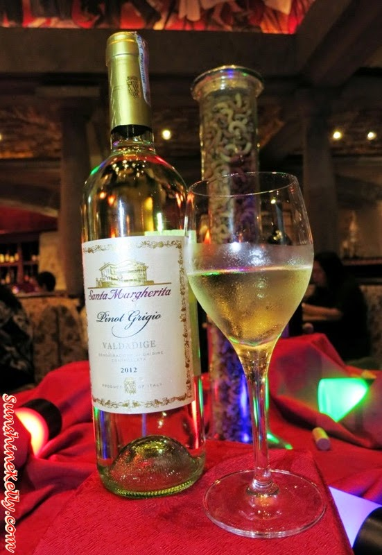 white wine, Santa Margherita, Santa Margherita Pinot Grigio, Italian Dining Experience, Santa Margherita Wine Dinner, Villa Danieli, sheraton imperial kl, food review, food wine pairing