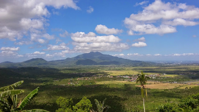 Mt. Makiling as seen from Mt. Kalisungan