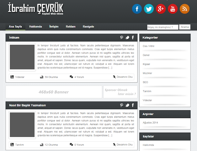 wordpress tema indir
