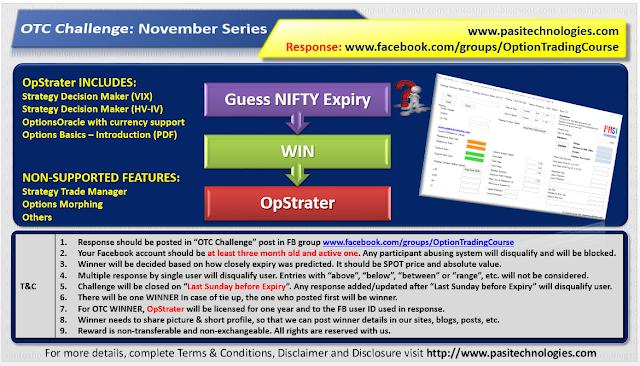 OTC Challenge: November 2018