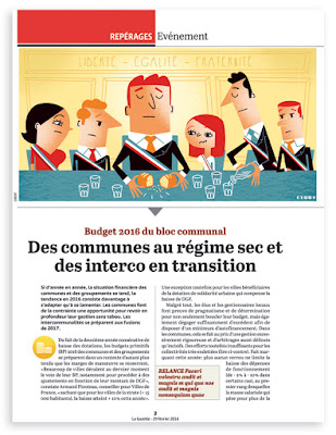 Clod illustration pour la Gazette des Communes du 29 janvier 2016