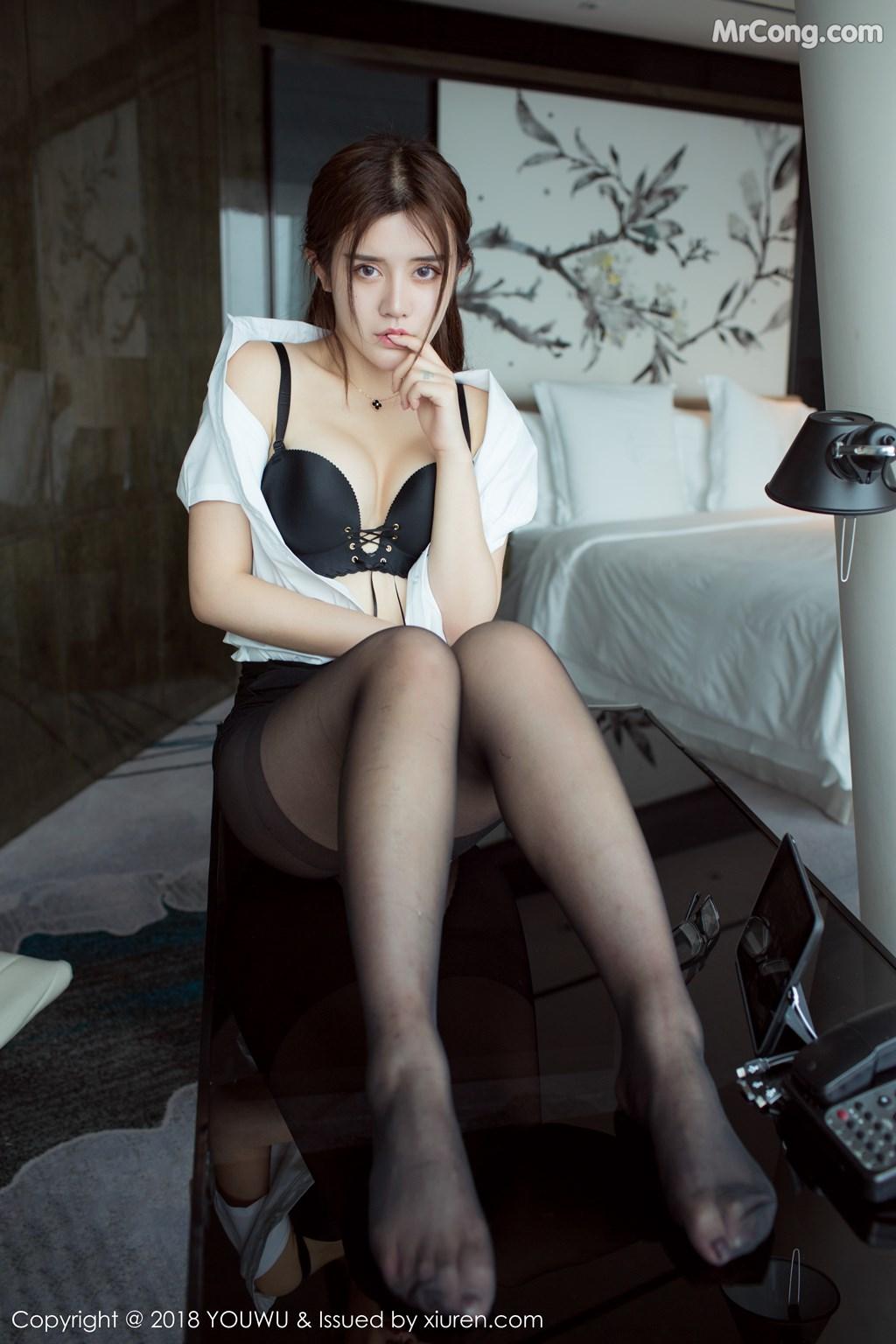 Image YouWu-Vol.081-Nina-MrCong.com-009 in post YouWu Vol.081: Người mẫu 兔子Nina (43 ảnh)