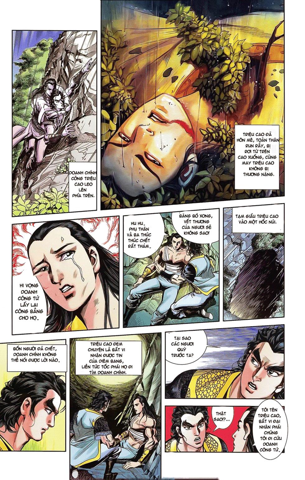 Tần Vương Doanh Chính chapter 18 trang 7