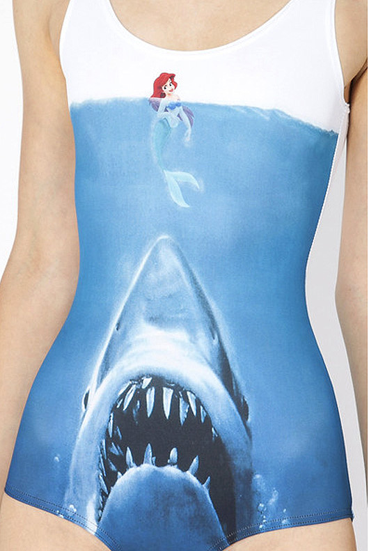 Ariel vs Jaws one piece swimsuit - if it's hip, it's here