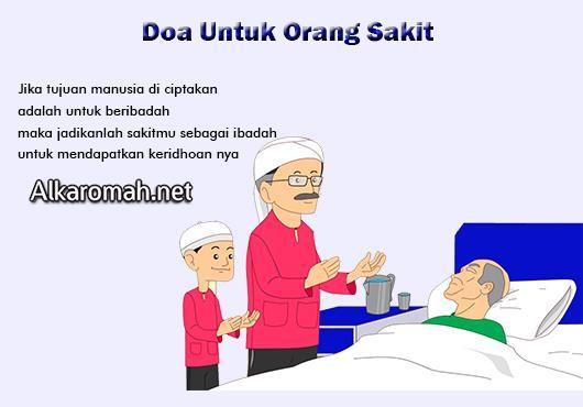 Doa Untuk Orang sakit Ucapan Mendoakan Kesembuhan Saat Menjenguk