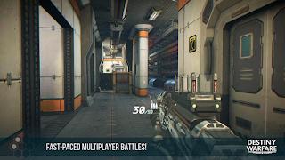 Destiny Warfare: Sci-Fi FPS APK Data Obb