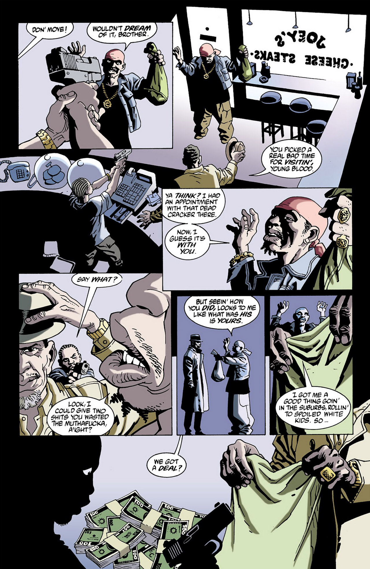 Read online 100 Bullets comic -  Issue #16 - 19