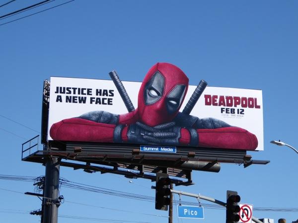 Deadpool movie billboard