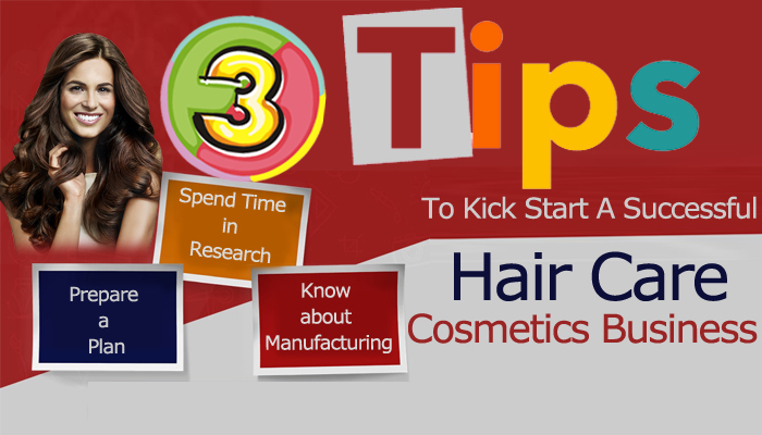 Successful Hair Care Cosmetics Business