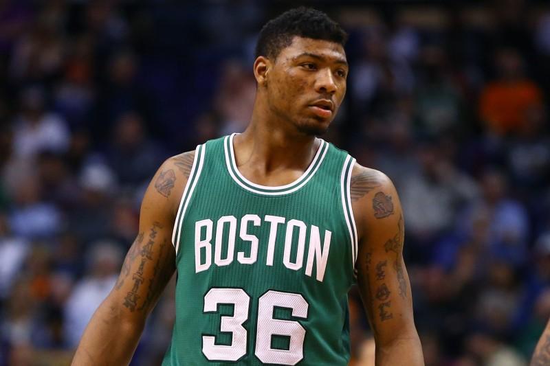 La camiseta verde del Boston Celtics con el dorso 36